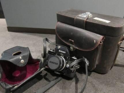 Nikon F 1970s Camera Micro-Nikkor Auto 55mm f⁄3.5 Classis RARE! N Sydney City Inner Sydney Preview