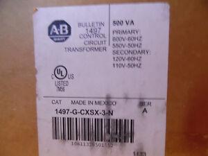 Allen Bradley Transformer 600/ 120V 500VA 1497-G-CXSX-0-N New  B