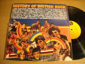 History of British Rock Vol. 1 a 2 LP set. Belleville Belleville Area image 1