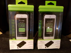 Brand new ultra slim Power Cases for iPhone5