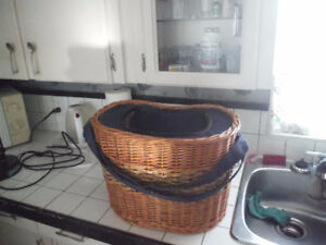 Basket insulated