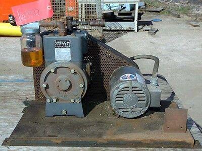 Welch Duo Seal Vacuum Pump Model 1405 Inv.16330