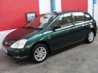 Honda Civic (green) 2002
