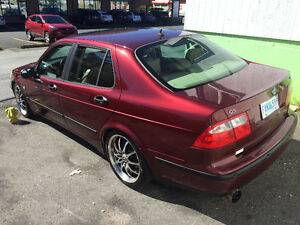 2003 Saab 9-5 Linear Auto Sedan w/ Stage 4 by JZW + performance