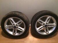 Genuine 17inch Ford alloys