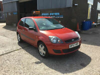 2007 FORD FIESTA 1.2 STYLE 3 DOOR,ONLY 78000 MILES WITH MOT HISTORY