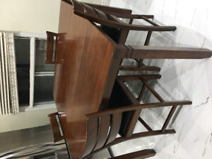 7 piece Pub style  Dining table set for sale