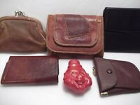 WALLETS + CHANGE PURSE + KEY HOLDERS = Some New