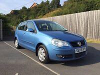 VOLKSWAGEN POLO 1.2 2005 +5 DOOR+ 12 MONTH MOT not Toyota aygo Ford Fiesta Vauxhall corsa