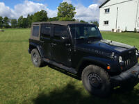 2008 Jeep Wrangler Unlimited Sahara  Dont let the KM's scare you