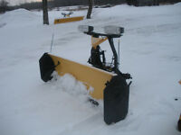 USED FISHER 8' HD SNOWPLOW