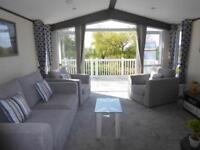 Brand new 2 bedroom holiday homes, sea view pitch, includes decking