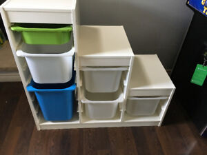 Kids IKEA storage