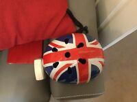 Union Jack bmx helmet