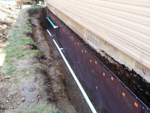 Excavation & Waterproofing Services