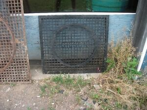 Assorted Castiron floor Grates