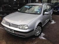 2004 (04) Volkswagen Golf 1.9TDI PD (130bhp) SE Estate **Last Owner Since 2008**