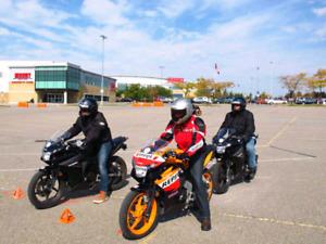 Motorcycle Gear Rental - M2 course