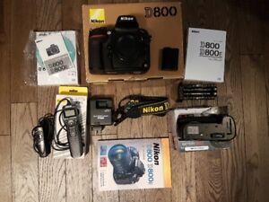 Nikon D800 Full Frame Camera
