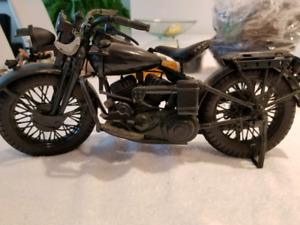 Vintage motorcycle toys