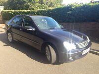 Mercedes C200 CDI Elegance 2006 Blue Saloon £2795ono