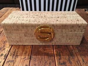 Gold & Cork 'S' Jewellery or Trinket Box Kitchener / Waterloo Kitchener Area image 2