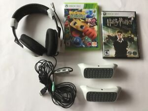 X Box 360: clavier - Harry Potter - Casque Ear Force X11
