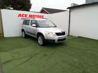 2010 60 SKODA YETI 2.0TDI CR ELEGANCE 110 BHP,ONLY 51000 MILES WITH FSH