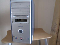 PC in midi tower case, in excellent working condition.