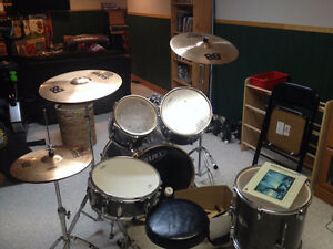 Maple Drum Set as shown