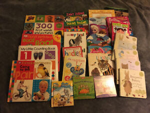 Box of books- Baby- 3 years old