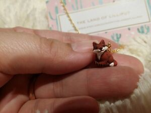 Miniature Hand Painted Necklace