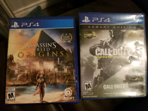 Ps4 games for sale $5 to $25