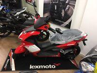 2016 New Lexmotodiablo 125cc **** Sport Moped ***