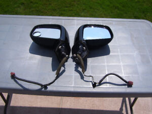 Two power side mirrors for 2008 Nissan Versa