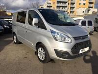 2015 Ford Transit Custom Limited 2.2TDCi 125PS Double Cab-in-Van 290 SWB
