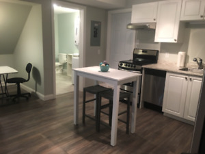 EXECUTIVE 1 BDRM APARTMENT. FULLY FURNISHED. 0 LEASE. SHRT TERM