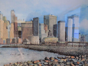 MEMORY of the TWIN TOWERS & NYC SKYLINE, by NICHOLAS SANTOLERI Kitchener / Waterloo Kitchener Area image 10
