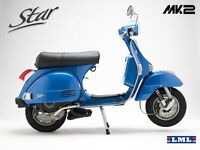 *NEW* Electric Blue 2016 Reg LML Star 125 4T Scooter