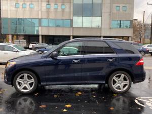 2015 Mercedes-Benz Ml350 Bluetec, Warranty, Fully load, Massages