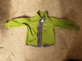 POP kids green fleece jacket