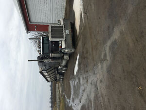 1999 Peterbilt and 2016 ABJ Four Axle Live Bottom