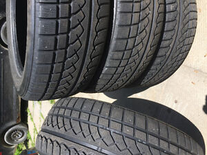 4 tires 235-55-r18 winter tire over 50% left on them
