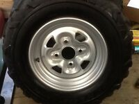 Atv wheels.  Rims and tires