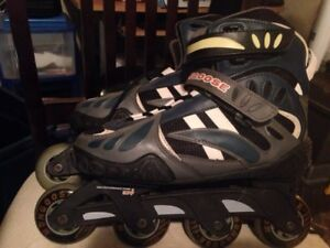 Mongoose rollerblades size 8