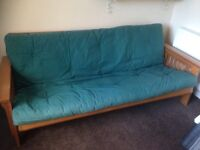 Double Wooden sofa bed