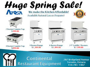 Restaurant Equipment Service and Warranty Toronto New and Used