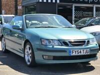 2004 Saab 9-3 2.0 T Vector 2dr Petrol blue Manual