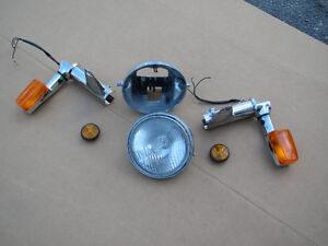 HONDA Headlight and Mounting Ears  HM-44M-S Belleville Belleville Area image 7