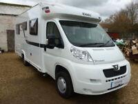 Elddis Autoquest 165 4 Berth low line low profile coach built, French Bed
